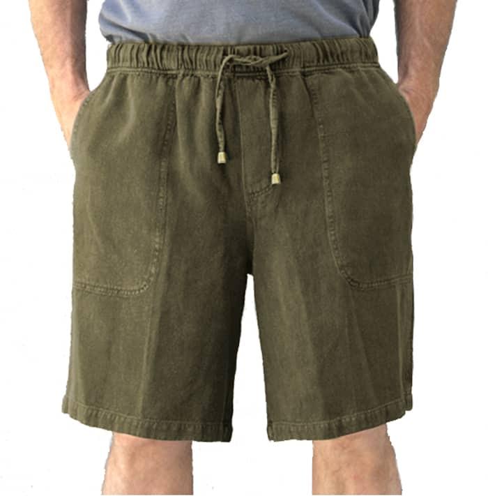 Hemp Shorts Olive