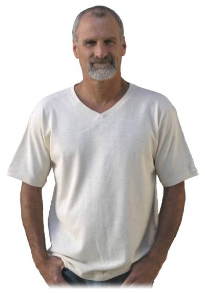 Natural hemp t shirt