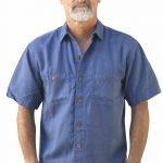 Cobalt Island Camp shirt