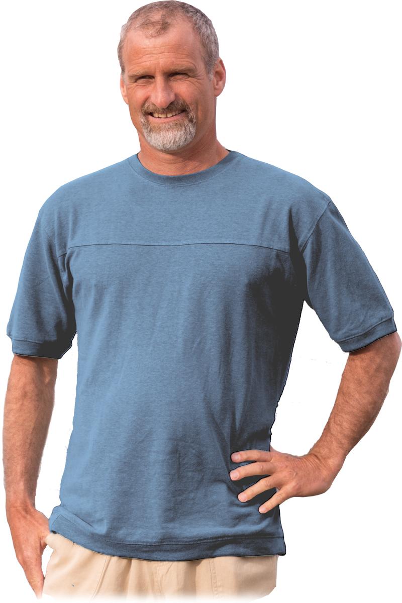 Denim Hemp T shirt