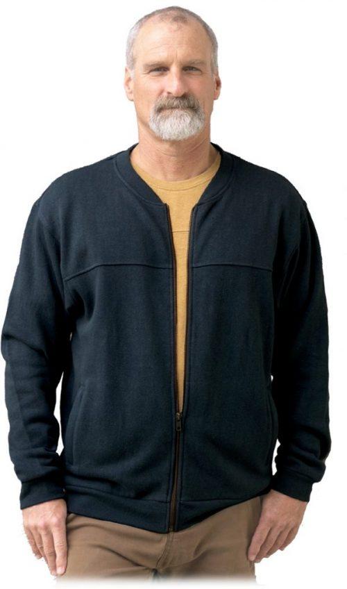 Monterey Hemp Zipper Jacket