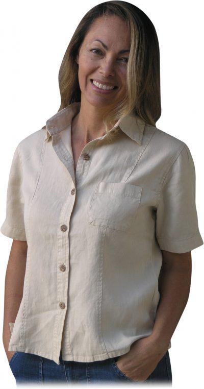 Women's hemp shirt