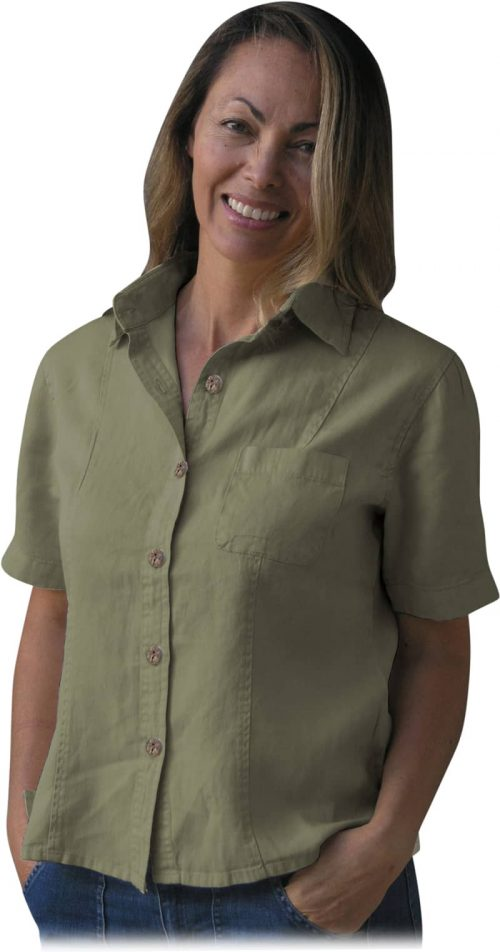 Womean's hemp shirt