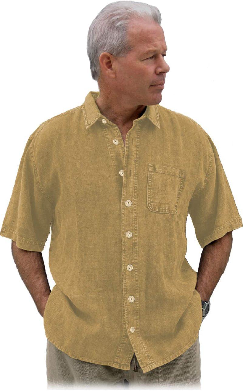 Curry hemp shirt