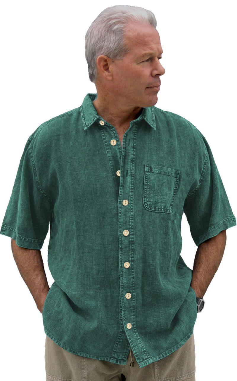 Teal Hemp Shirt