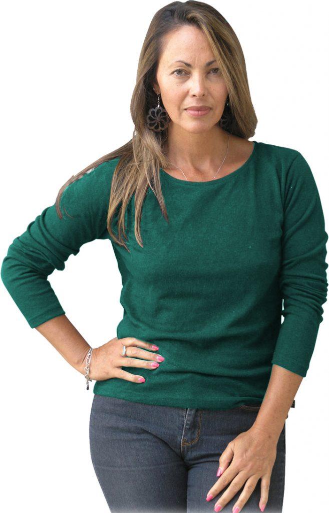 Women's hemp T shirt