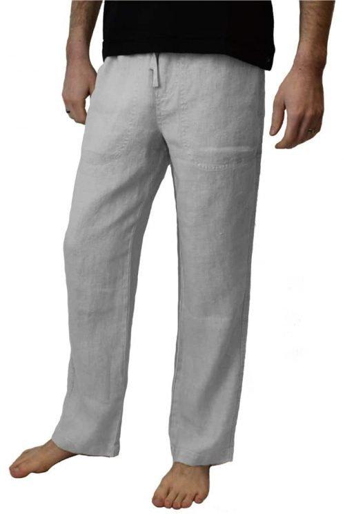Grey hemp pant