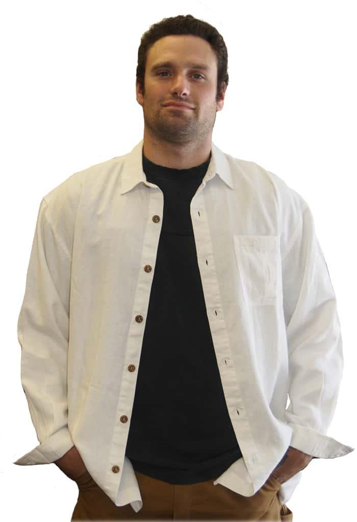 Cozumel hemp shirt