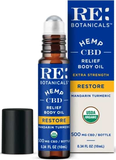 RE Botanicals Relief Roller