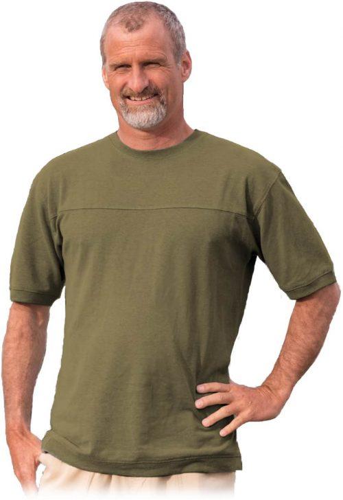 Olive Hemp T shirt