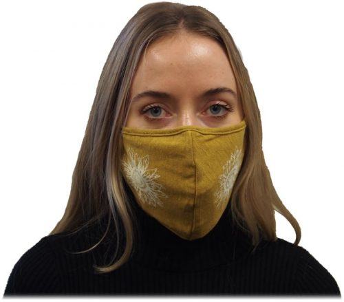 Curry Sunflower Mask