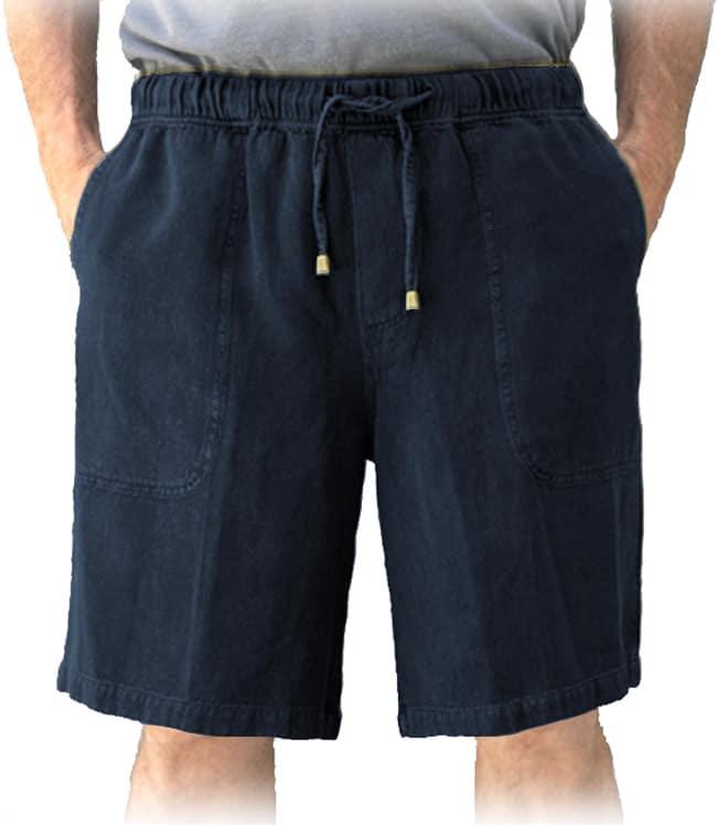 Cobalt hemp shorts