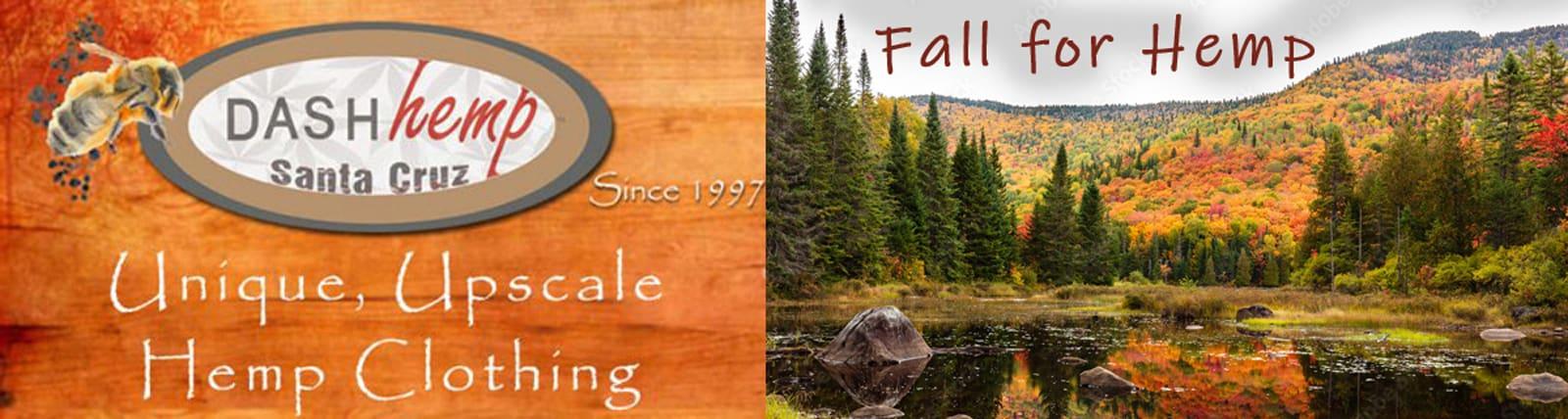 Fall for Hemp Clothing